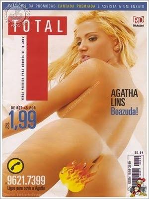 Agatha Lins – Revista Total