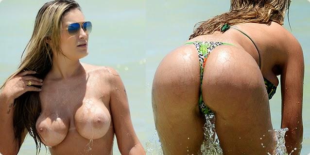 Flagras – Andresa Urach Topless