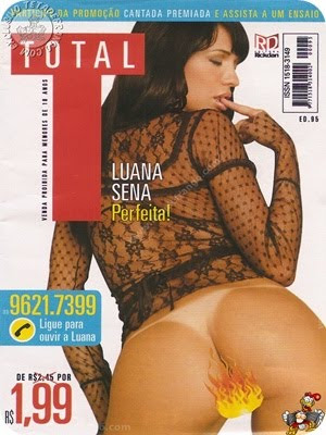 Luana Sena – Revista Total – 2010