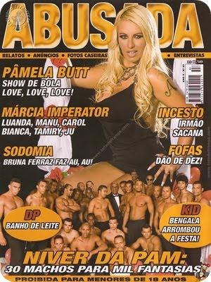 Pâmela Butt – Revista Abusada – Julho 2010