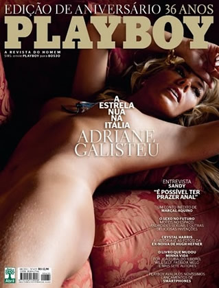 Playboy Agosto – Adriane Galisteu