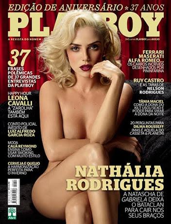 Playboy Agosto – Nathália Rodrigues