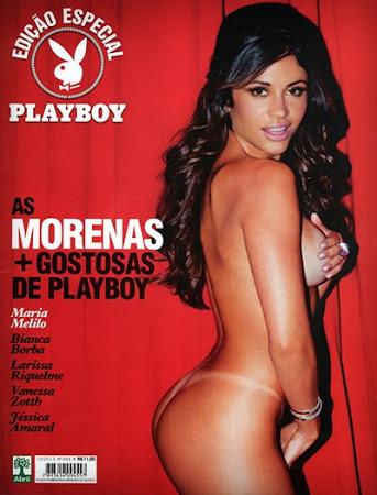Playboy – As Morenas Mais Gostosas