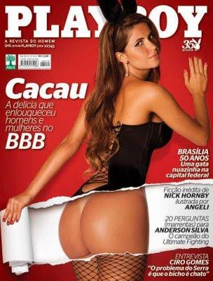 Playboy – Cacau BBB10