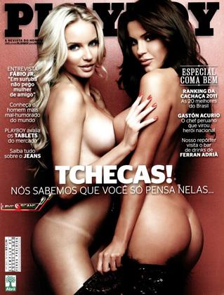 Playboy Julho – As Tchecas do Pânico