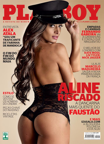 Playboy Junho – Aline Riscado