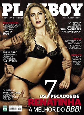 Playboy Maio – Renata BBB12