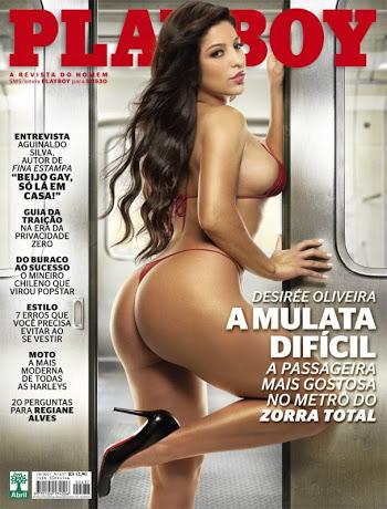 Playboy Outubro – Desirée Oliveira
