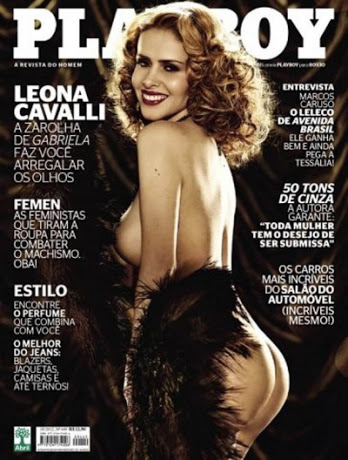 Playboy Outubro – Leona Cavalli