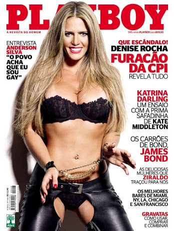 Playboy Setembro – Denise Rocha