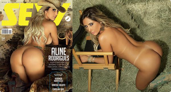 Sexy – Aline Rodrigues nua (Teste de Fidelidade)