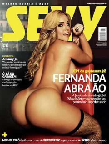 Sexy Março – Fernanda Abraão