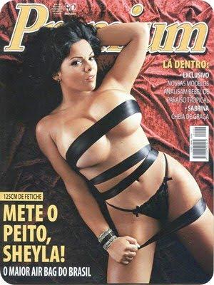 Sheyla Almeida – Revista Premium