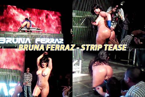 Strip Tease na Festa GV – Bruna Ferraz