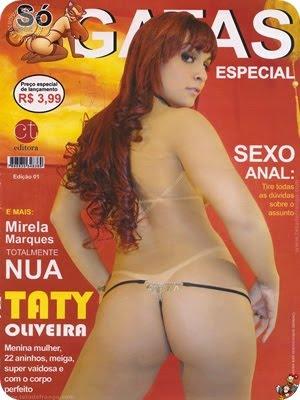Taty Oliveira – Revista Só Gatas
