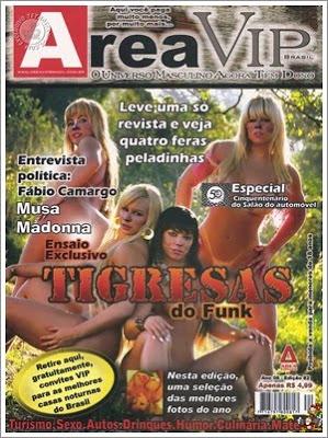 Tigresas do Funk – Area Vip Brasil