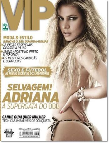 Vip Abril – Adriana BBB11